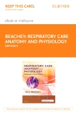 cover image - Respiratory Care Anatomy and Physiology - Elsevier eBook on VitalSource (Retail Access Card),4th Edition