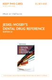 cover image - Mosby's Dental Drug Reference - Elsevier eBook on VitalSource (Retail Access Card),12th Edition