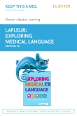 cover image - Elsevier Adaptive Learning for Exploring Medical Language (Access Card),10th Edition