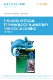 cover image - Elsevier Adaptive Learning for Medical Terminology & Anatomy for Coding - Access Card,3rd Edition