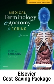 cover image - Medical Terminology & Anatomy for ICD-10 Coding - Text and Elsevier Adaptive Learning Package,3rd Edition
