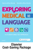 cover image - Exploring Medical Language - Text and Elsevier Adaptive Learning Package,10th Edition