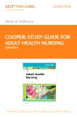 cover image - Study Guide for Adult Health Nursing - Elsevier eBook on VitalSource (Retail Access Card),8th Edition