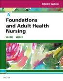 cover image - Study Guide for Foundations and Adult Health Nursing - Elsevier eBook on VitalSource,8th Edition