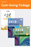 cover image - 2018 ICD-10-CM Physician Professional Edition (Spiral bound), 2018 HCPCS Professional Edition and AMA 2018 CPT Professional Edition Package
