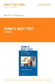 cover image - Ferri's Best Test Elsevier eBook on VitalSource (Retail Access Card),4th Edition