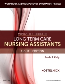 cover image - Workbook and Competency Evaluation Review for Mosby's Textbook for Long-Term Care Nursing Assistants - Elsevier eBook on VitalSource,8th Edition