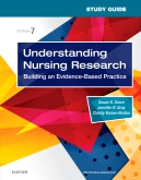 cover image - Study Guide for Understanding Nursing Research,7th Edition