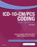 cover image - ICD-10-CM/PCS Coding: Theory and Practice, 2018 Edition Elsevier eBook on VitalSource