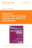 cover image - ICD-10-CM/PCS Coding: Theory and Practice, 2018 Edition Elsevier eBook on VitalSource (Retail Access Card)