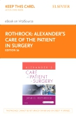 cover image - Alexander's Care of the Patient in Surgery - Elsevier eBook on VitalSource (Retail Access Card),16th Edition