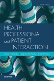 cover image - Health Professional and Patient Interaction Elsevier eBook on VitalSource,9th Edition