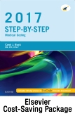 cover image - Step-by-Step Medical Coding, 2017 edition - Text and Elsevier Adaptive Learning Package