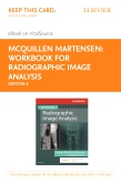 cover image - Workbook for Radiographic Image Analysis Elsevier eBook on VitalSource (Retail Access Card),5th Edition