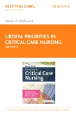 cover image - Priorities in Critical Care Nursing - Elsevier eBook on VitalSource (Retail Access Card),8th Edition