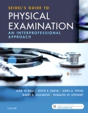 cover image - Seidel's Guide to Physical Examination - Elsevier eBook on VitalSource,9th Edition