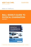 cover image - Seidel's Guide to Physical Examination - Elsevier eBook on VitalSource (Retail Access Card),9th Edition