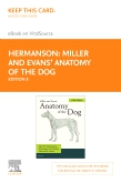 cover image - Miller and Evans' Anatomy of the Dog - Elsevier eBook on VitalSource (Retail Access Card),5th Edition
