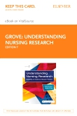 cover image - Understanding Nursing Research Elsevier Ebook on VitalSource (Retail Access Card),7th Edition