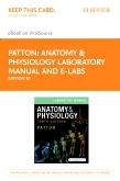 cover image - Anatomy & Physiology Laboratory Manual and E-Labs Elsevier eBook on VitalSource (Retail Access Card),10th Edition