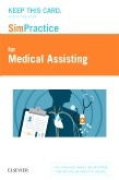 cover image - SimPractice for Medical Assisting (Access Card)