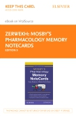 cover image - Mosby's Pharmacology Memory NoteCards - Elsevier eBook on VitalSource (Retail Access Card),5th Edition
