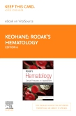cover image - Rodak's Hematology Elsevier eBook on VitalSource (Retail Access Card),6th Edition