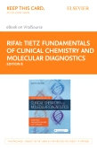 cover image - Tietz Fundamentals of Clinical Chemistry and Molecular Diagnostics Elsevier eBook on VitalSource (Retail Access Card),8th Edition