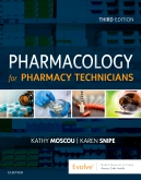 cover image - Pharmacology for Pharmacy Technicians - Elsevier eBook on VitalSource,3rd Edition