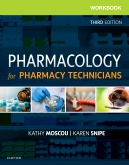 cover image - Workbook for Pharmacology for Pharmacy Technicians - Elsevier eBook on VitalSource,3rd Edition