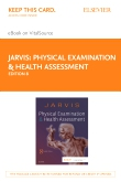 cover image - Physical Examination and Health Assessment - Elsevier eBook on VitalSource (Retail Access Card),8th Edition