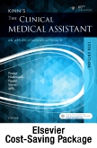 cover image - Kinn's The Clinical Medical Assistant - Text, Study Guide, and Checklists,13th Edition