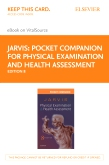 cover image - Pocket Companion for Physical Examination and Health Assessment - Elsevier eBook on VitalSource (Retail Access Card),8th Edition