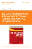 cover image - Workbook for ICD-10-CM/PCS Coding: Theory and Practice, 2019/2020 Edition - Elsevier eBook on VitalSource (Retail Access Card)