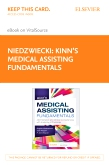 cover image - Kinn's Medical Assisting Fundamentals Elsevier eBook on VitalSource (Retail Access Card)