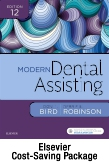 cover image - Modern Dental Assisting - Text and Checklists,12th Edition