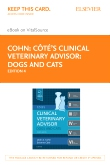cover image - Cote's Clinical veterinary Advisor: Dogs & Cats - Elsevier eBook on VitalSource (Retail Access Card),4th Edition