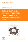 cover image - Dentistry, Dental Practice, and the Community - Elsevier eBook on VitalSource (Retail Access Card),7th Edition