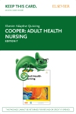 cover image - Elsevier Adaptive Quizzing for Adult Health Nursing (Access Card),7th Edition