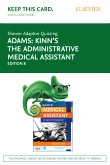 cover image - Elsevier Adaptive Quizzing for Kinn's The Administrative Medical Assistant (Access Card),8th Edition