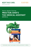 cover image - Elsevier Adaptive Quizzing for Kinn's The Medical Assistant (Access Card),12th Edition