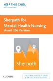 cover image - Sherpath for Mental Health Nursing (Stuart Version) - Access Card,10th Edition