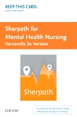 cover image - Sherpath for Mental Health Nursing (Varcarolis Version) - Access Card,3rd Edition