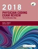 cover image - Evolve Exam Review for Physician Coding Exam Review, 2018 Edition