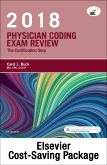 cover image - Physician Coding Exam Review 2018 – Elsevier eBook on VitalSource + Evolve Access (Retail Access Cards)