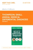 cover image - Small Animal Medical Differential Diagnosis Elsevier eBook on VitalSource (Retail Access Card),3rd Edition