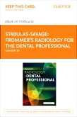 cover image - Frommer's Radiology for the Dental Professional - Elsevier eBook on VitalSource (Retail Access Card),10th Edition