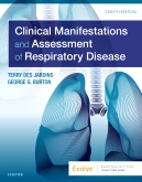 cover image - Clinical Manifestations and Assessment of Respiratory Disease Elsevier eBook on VitalSource,8th Edition