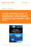 cover image - Introduction to Radiologic and Imaging Sciences and Patient Care Elsevier eBook on VitalSource (Retail Access Card),7th Edition