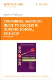 cover image - Saunders Guide to Success in Nursing School, 2018-2019 - Elsevier eBook on VitalSource Retail Access Card,14th Edition